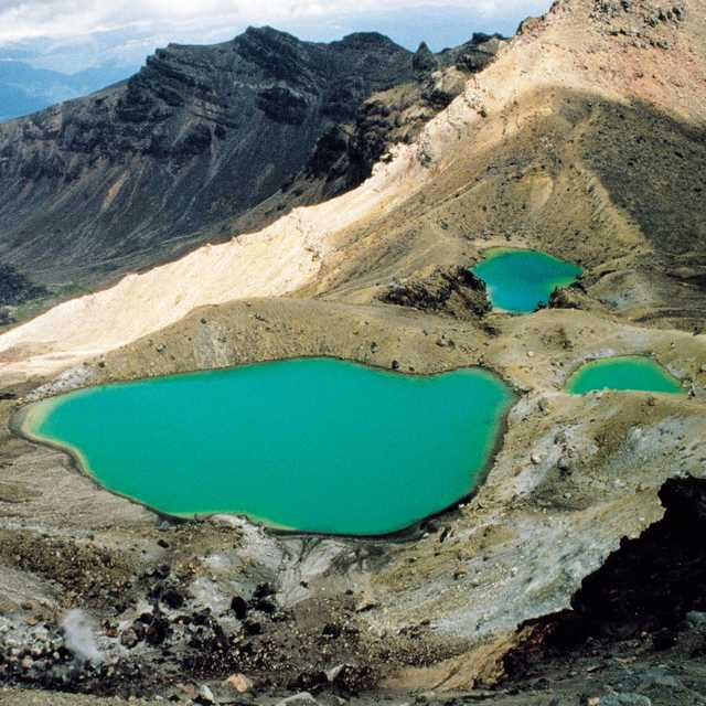 Emerald Lakes - Tongariro NP