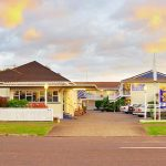 Exterior Motel en Rotorua