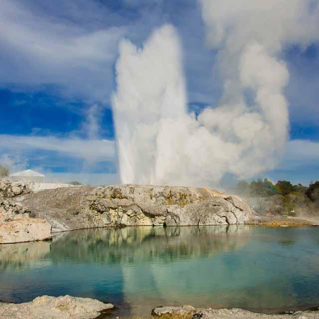 Zona del valle geotermal Rotorua