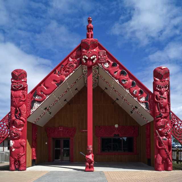 Marae - Cultura de Nueva Zelanda