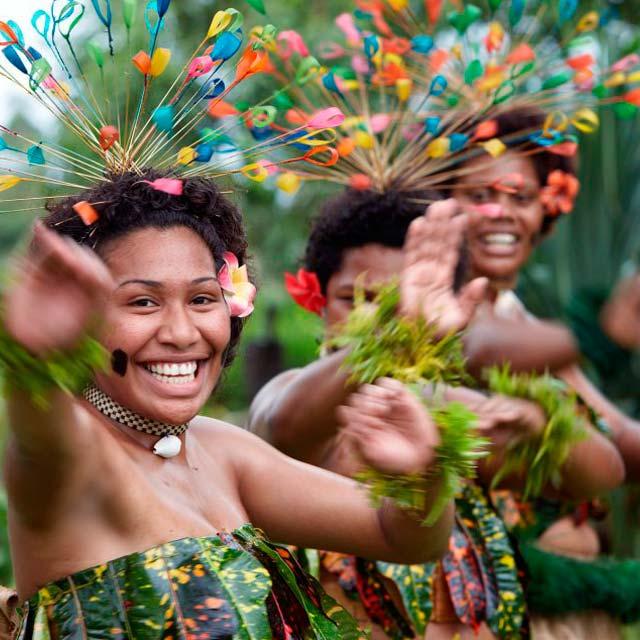 Bailarinas fiyianas