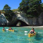 Kayak en Coromandel