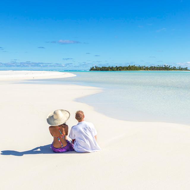 Laguna de Aitutaki Islas Cook