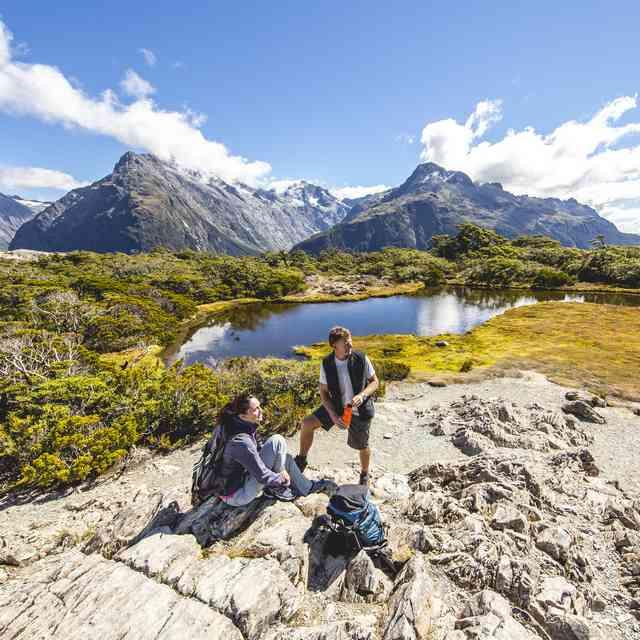 Routeburn Track Fiordland