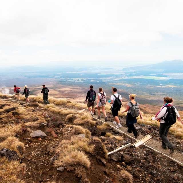 Tongariro Crossing Tour Aotearoa