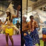Bailarines de las Islas Cook - NZ Viajes