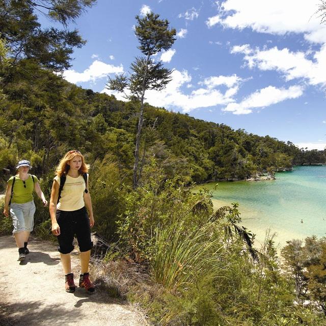 Viaje organizado por Nueva Zelanda - Caminata en Abel Tasman