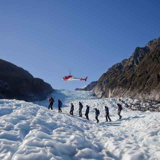 Heli Hike en el Glaciar