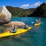 Viaje organizado por Nueva Zelanda - Kayak en Abel Tasman
