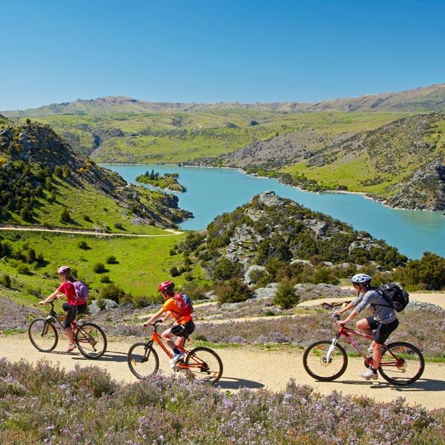 Montañas de Otago - Nueva Zelanda en familia